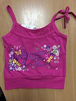 """Яркая летняя майка для девочки ТМ """"Фламинго"""" 110-116 рост, фото 1"""