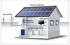 """Гібридні сонячні електростанції ( Резерв + """"Зелений тариф"""")"""