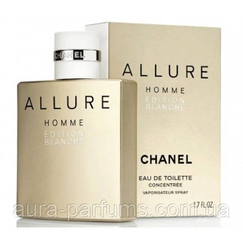 Chanel Allure Homme Edition Blanche Concentrate Edt 50 Ml M