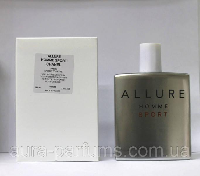 Chanel Allure Homme Sport тестер Edt 50 Ml M оригинал продажа