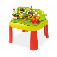 Развивающий столик для игр Маленький садовник Smoby 840100
