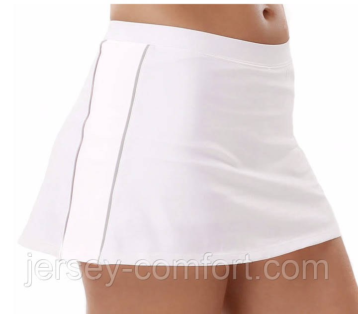 Теннисная юбка с шортами купить в
