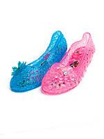 Детские шлепанцы - босоножки для девочек оптом от фирмы Sanlin F-118 (24-29)