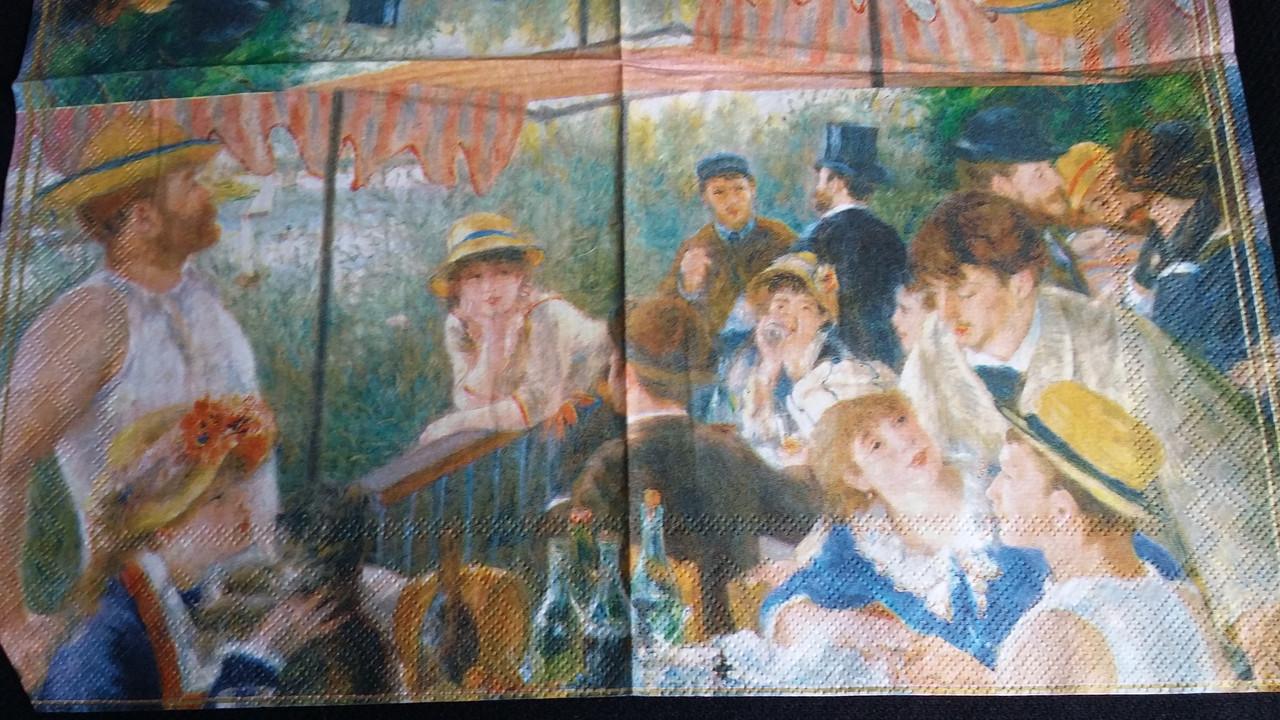 Салфетка для декупажа, 33х33 см (2 картинки), 10
