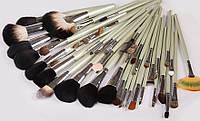 Большой профессиональный набор кистей для макияжа 48 шт. + чехол