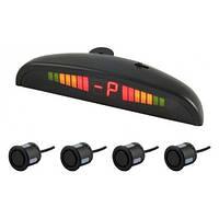Парктроник 4 датчика Cyclon SK-4T LED дисплей/звуковой сигнал/черный