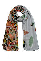 Весенний шарфик модный принт