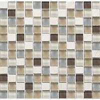 Мозаика мрамор стекло Vivacer DAF 11