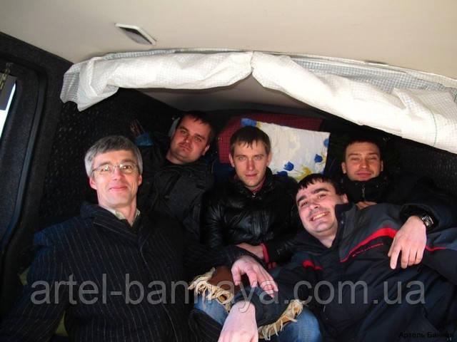 Артель Банная, соревнование банщиков, поездка в Литву, Геннадий Мороз
