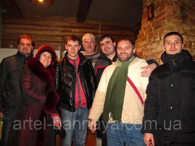 Артель Банная, соревнование банщиков, поездка в Литву,