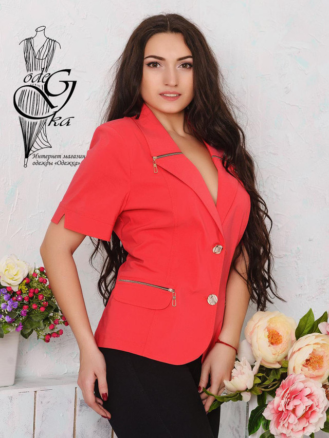 Подобные товары-2 Летнего женского пиджака Змейка-1