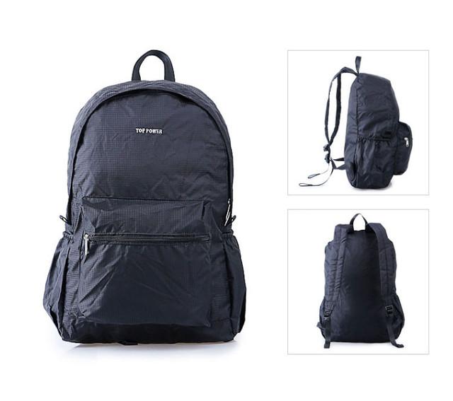 Рюкзак Top Power | черный вид с обеих сторон