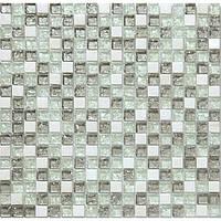 Каменная мозаика со стеклом для кухонного фартука Vivacer DAF3