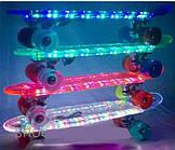 Пенни борд, Penny board,скейт, скейтборд New 2016 Скейтборд/ скейт Пенни борд  LED светящаяся доска