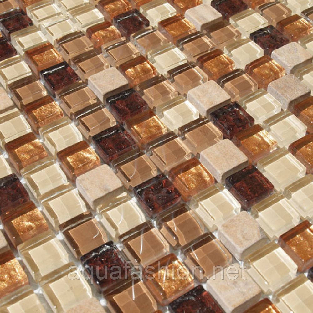 Мозаика из натурального камня стекла