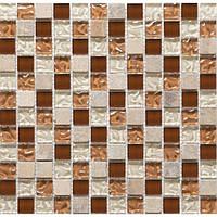 Мозаика камень стекло Vivacer DAF9