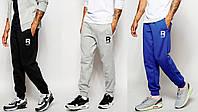 Спортивные штаны с резинкой внизу рибок,reebok