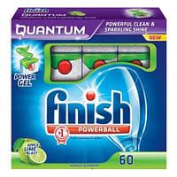 Таблетки Finish Quantum лайм для посудомоечных машин 60 шт Финиш квантум