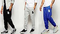 Спортивные штаны с резинкой внизу