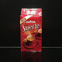 Натуральный молотый кофе Lavazza Suerte 250г