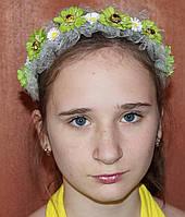 Яркий ободок для волос Весна, холодный фарфор