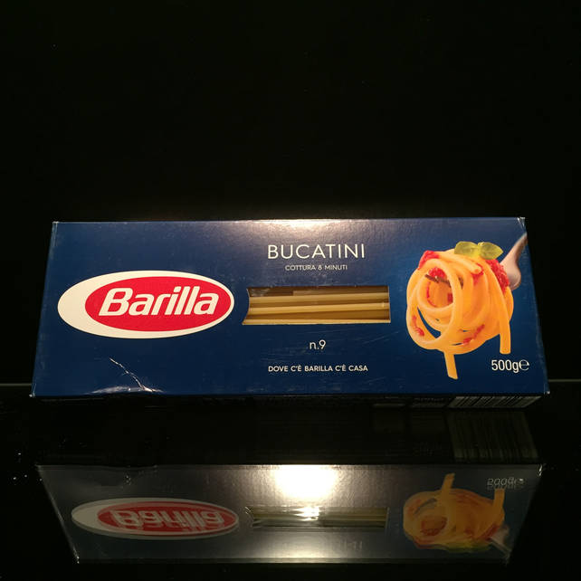 Итальянская Паста из твердых сортов пшеницы Barilla Bucatini #9