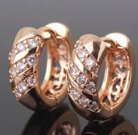 Серьги из золота или серебра