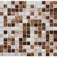 Мозаика стекло с авантюрином Vivacer GLmix 26