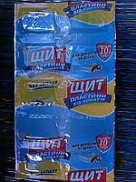 Пластины от комаров без запаха Щит для всей семьи