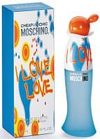 Женская туалетная вода Cheap & Chic I Love Love Moschino (чистый, бодрый, прохладный аромат)