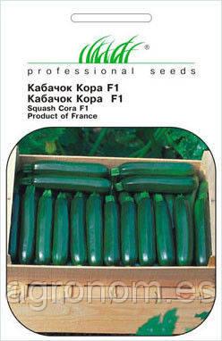 Семена кабачка КОРА F1 500 семян Clause Seeds