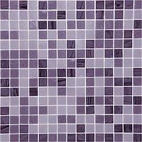 Фиолетовая мозаика для кухни на фартук Vivacer GLmix 39