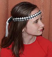 Повязка для волос в стиле ретро