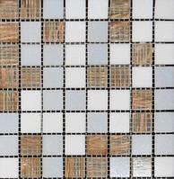 Мозаика стекло с авантюрином Vivacer GLmix 43