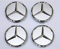 Заглушки колпачки литых дисков Mercedes 60mm
