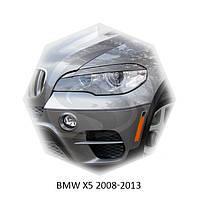 Реснички на фары BMW X5 E70 2008-2013 г.в.