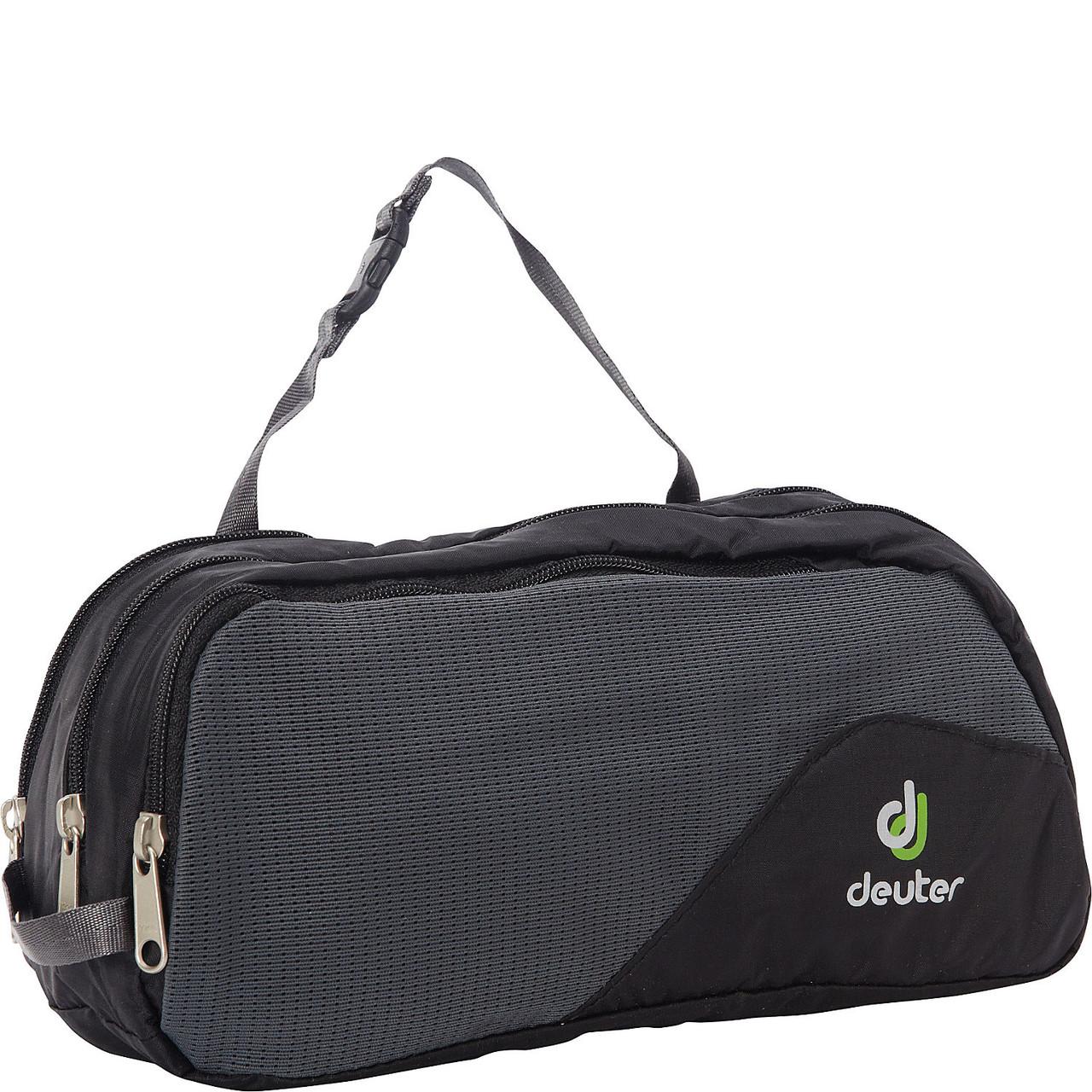 Несессер Deuter Wash Bag Tour III black/granite (39444 7410)