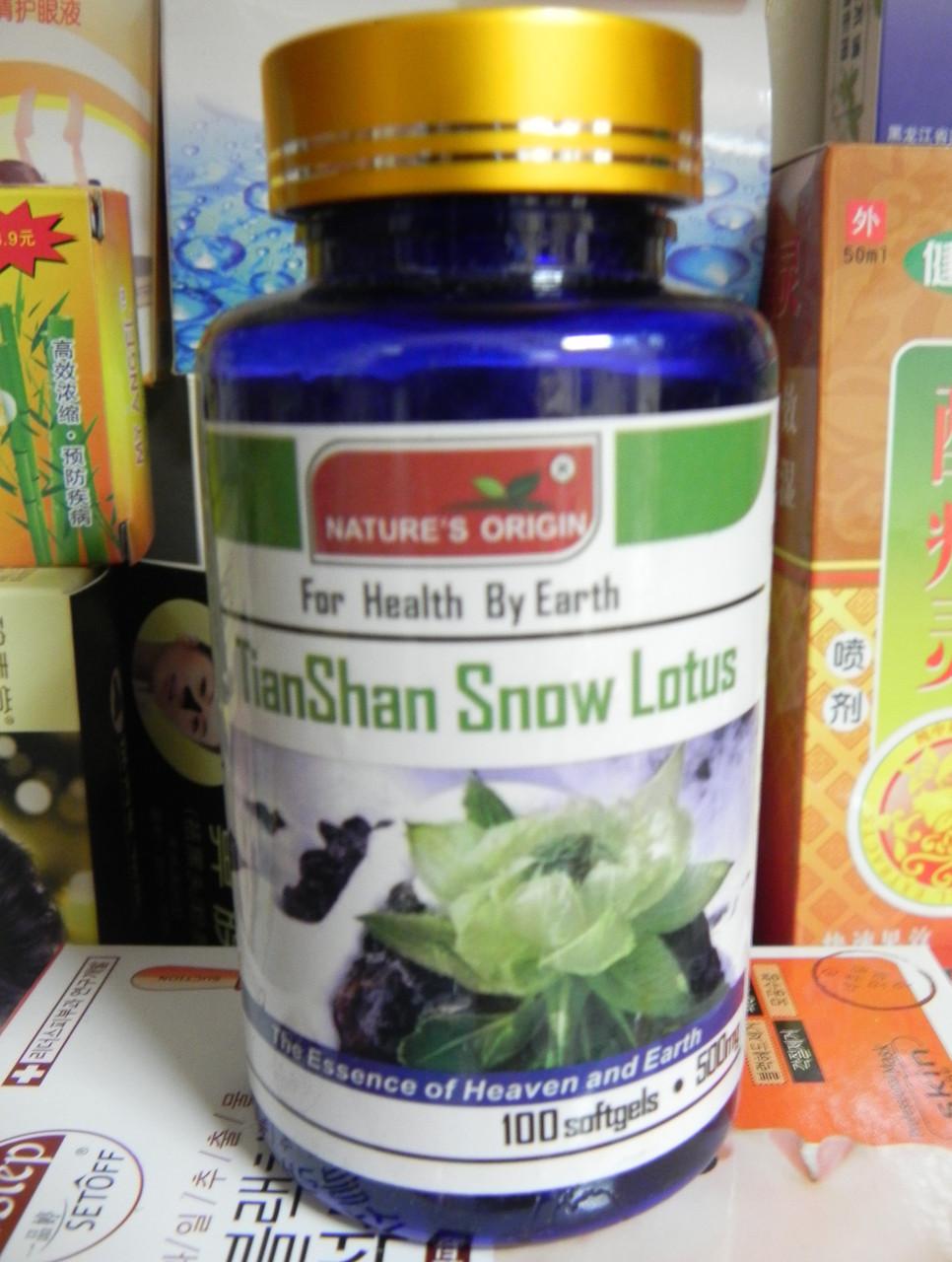 Капсулы Снежный лотос (позвоночник, суставы, пигментация, старение) 100шт