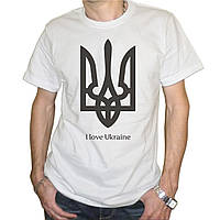 "Мужская футболка ""I Love Ukraine"""