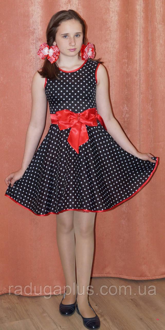 9e56e6b0202830b Нарядное платье для девочки в горошек, 140 см, Киев. Платье на выпускной,  свадьбу, День Рождение