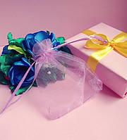 Мешочек из органзы /размер 7х9 см./ упаковка подарков/ цвет сиреневый