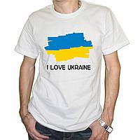 """Мужская футболка """"Флаг Украины"""""""