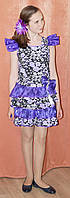 Нарядное платье для девочки в стиле Твайлы из Монстер Хай. 10-12 лет