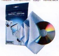 Салфетка для оптики, электроники и компьютеров,SMART Белый кот