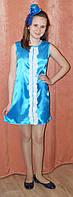 Нарядное платье для девочки голубое.10-12 лет. Оригинальный подарок. Платье на выпускной бал.