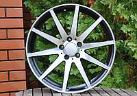 Литые диски R19 8.5j 5x112 et35 на MERCEDES C COUPE W204 W211 W212