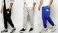Мужские штаны спортивные с резинкой внизу