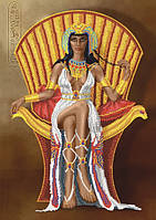 Схема для вышивания бисером Царица Египта КМР 3261