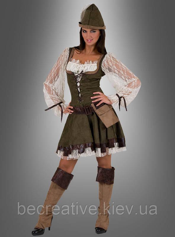 Женский карнавальный костюм Робин Гуд