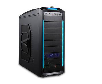Компьютерный Корпус Delux ATX DLC-MZ 406 (Gaming case, Black), без БП